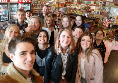 The Jetstream Journal's 2018-2019 class went on a field trip to