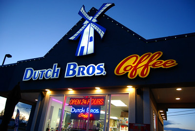 """""""Dutch Bros.Coffee in Caldwell, Idaho,"""" Labeled for Creative Commons."""