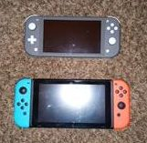 The Nintendo Switch and The Nintendo Switch Lite. Photo taken by Isaiah Campbell.